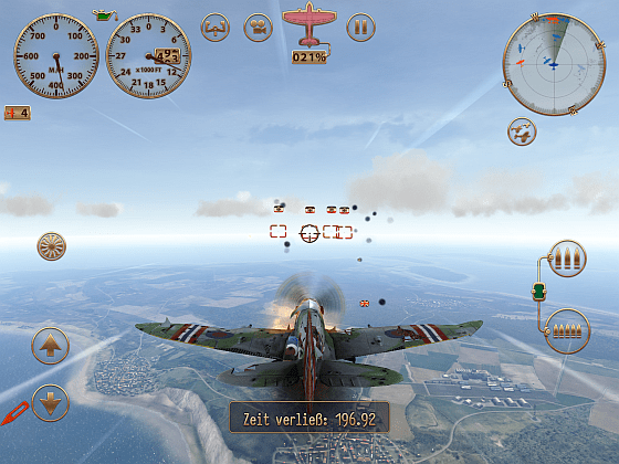Sky Gamblers: Storm Raiders Screenshot