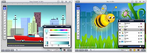 Inkpad Screens