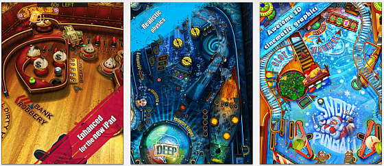 Pinball HD Screenshots