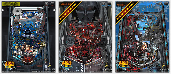 Star wars Pinball 2 Screenshots