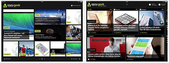 Die neu gestaltete Nachrichten App präsentiert sich aufgeräumt  und übersichtlich. So kommt man schnell zu den relevanten News.