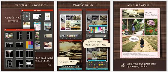 Mit Frame Artist Pro hast Du ein gutes Layoutwerkzeug für die arbeit mit Bildern zur Verfügung.