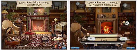 Deine Bibliothek (links) sieht am Anfang noch etwas kahl aus, Du kannst sie aber mit zahlreichen Gegenständen und Möbeln ausrüsten. In einem Level wirst Du sogar zum Autor der Novelle selbst - es bleibt also abwechslungsreich...