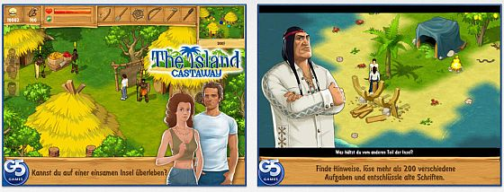 Auf einer einsamen Insel treffen sich mehrere Überlebende einer Schiffskatastrophe. Löse 200 Aufgaben, um den Weg zurück in die Zivilisation zu schaffen.