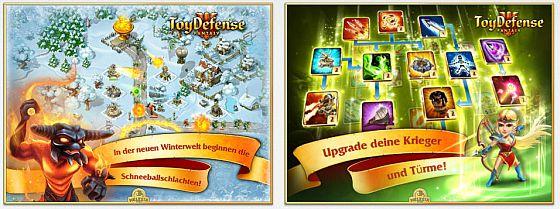 In Toy Defense 3 verteidigst Du Dein Schloss gegen Trolle, Kobolde, Drachen und Söldner.