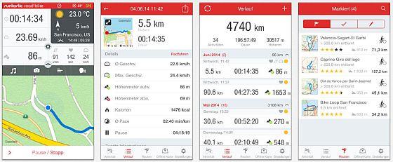 Mit dem Roadbike Fahrradcomputer auf Deinem iPhone hast Du den perfekten Begleiter für Deine Fahrradtouren - ob Du es sportlich magst oder relaxed. Dazu liefert die App zahlreiche Daten, die man im Auge behalten kann, wenn man das iPhone am Lenker montiert hat.