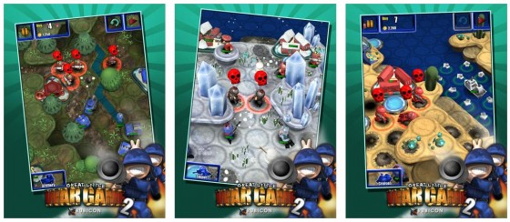 Grafik poliert, aber sonst den Wurzeln treu geblieben. Great Little War Game 2 bietet 60 neue Kampagnen.