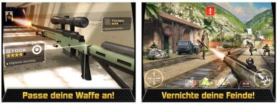 Das Spiel Kill Shot bietet 200 Scharfschützen-Missionen und überzeugt in der Gesamtaufmachung.