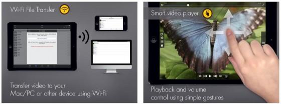 Die heruntergeladenen Videos kannst Du auch auf Deinen PC oder Mac überspielen - und der integrierte Videoplayer kann mit den besten Apps dieser Art mithalten.