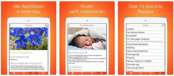 Eine eigene App für die Bachblüten-Behandlung von Kindern - sanfte Naturmedizin für das stressige Leben.