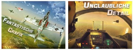 Eine Besonderheit von Sky Gamblers ist, dass das Spiel für Anfänger und Fortgeschrittene Piloten gleichermaßen geeignet ist. Es gibt sogar eine Autopilotfunktion, so dass Du Dich auf den Kampf konzentrieren kannst.
