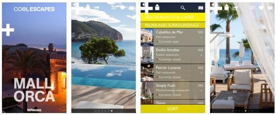 Die Reiseführer der Reihe Cool Escapes leben von den verwendeten Bildern, wie man hier am Beispiel des Mallorca-Reiseführers sieht.
