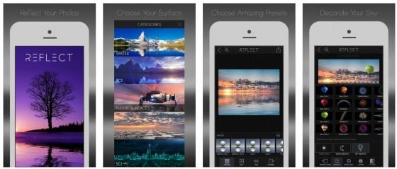 Reflect Mirror Camera ist der Foto-Spezialist für Spiegelungseffekte in Fotos. Mit der App gelingen außergewöhnliche Bildbearbeitungen in wenigen Minuten.