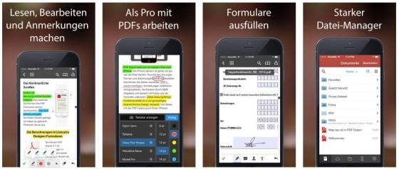 Auch auf dem iPhone oder iPod Touch kannst Du mit PDF Expert 5 Dateien lesen, bearbeiten und signieren. Richtig sinnvoll wird PDF Expert 5 allerdings meiner Meinung nach auf dem iPad und iPad Pro.