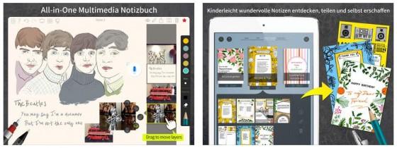 Noteledge Ultimate bringt alles für Kreative mit - die App kann recht viel, macht aber auch nicht alles perfekt.