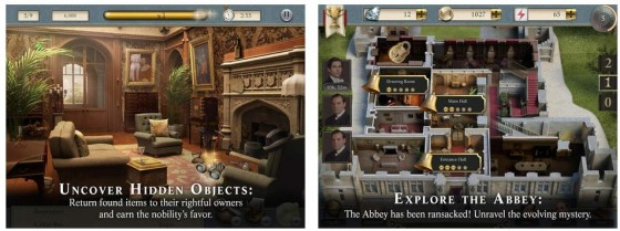 Sehr ordentlich gemacht präsentiert sich das Spiel zur TV-Serie Downton Abbey.