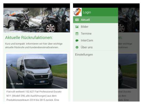 Die App Rueckrufe.net informiert kostenlos über aktuelle Rückrufaktionen und Lebensmittelwarnungen.