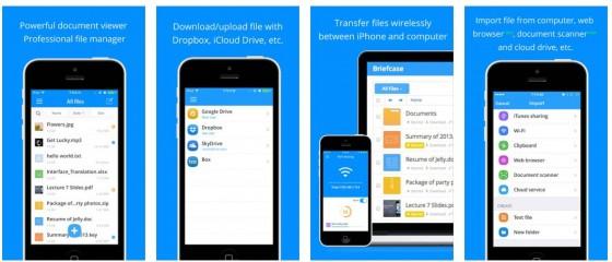 Mit Briefcase Pro erweiterst Du die Funktionalität von iPhone und iPad um einen universellen Datenspeicher, in den Du einfach Dateien laden kannst.
