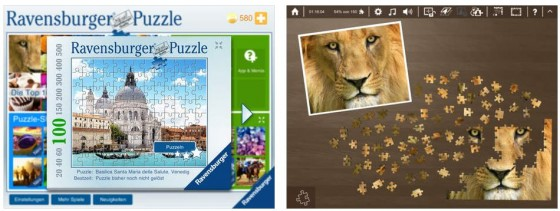 Ravensburger Puzzle App Screenshots