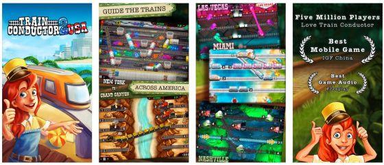 Auf nach Amerika: Im zweiten Teil von Train Conductor bist Du der Stellwerksmeister in amerikanischen Städten.