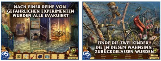 Wimmelbild, gepaart mit Abenteuer-Elementen: Das Spiel Questerium: sinister Trinity reiht sich nahtlos in die letzten Veröffentlichungen von G5 Entertainment ein.