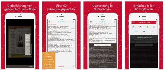 Mit TextgGrabber kann man gedruckte Texte gut digitalisieren. Die OCR-Software erkennt die Wörter und macht so den Text fit für verschiedene Arten der Weiterverwendung.