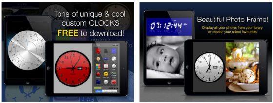 Clocktunes lässt Dir viele Freiheiten bei der Auswahl Deiner Uhrenanzeige - und zusätzlich kann die App auch als Wecker, Einschlaftimer, Bilderrahmen und zum Abspielen Deiner Musik genutzt werden.
