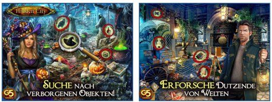 Hidden City ist ein sehr umfangreiches Spiel: Die Wimmelbildaufgaben sind nicht zu schwer - die Übersetzung ist sehr gut.