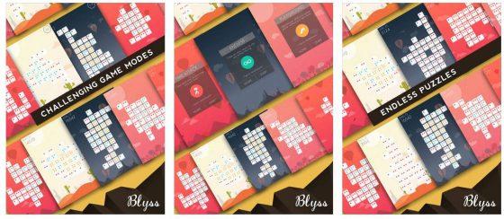 Puzzlen bis man nicht mehr mag: Blyss bietet sich selbst entwickelnde Puzzle und kann so schier endlos lange gespielt werden.