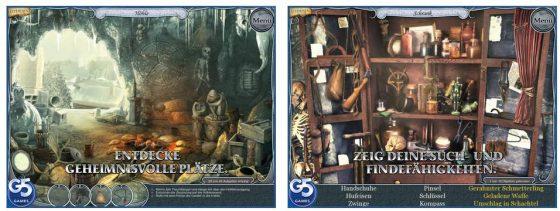 Treasure Seekers 3 oder die Die Schatzsucher: Auf den Spuren der Geister ist ein ganz typisches G% Wimmelbild-Adventure. Nicht zu schwer und von guter Qualität.