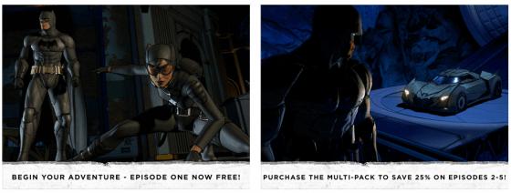 Kinoähnlich geht es in Batman - The Telltale Series zu. Du entscheidest den weiteren Verlauf der Episoden.