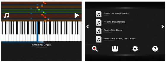 Screenshot Little Big Piano