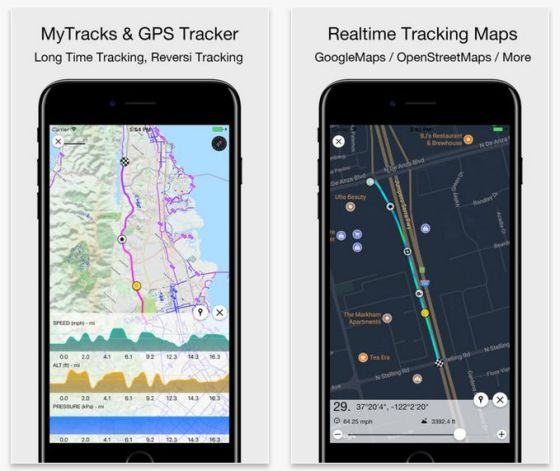 Die App MyTracks folgt Dir auf Schritt und Tritt, wenn Du es ihr erlaubst.