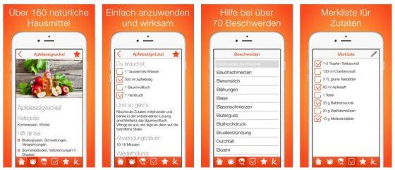 Erkältungswetter in Deutschland - die App weiß Rat für viele Erkrankungen und schlägt die passenden Hausmittel vor.