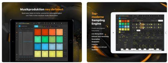 Eine komplette Audio-Workstation auf dem iPad - das ist BeatMaker 3