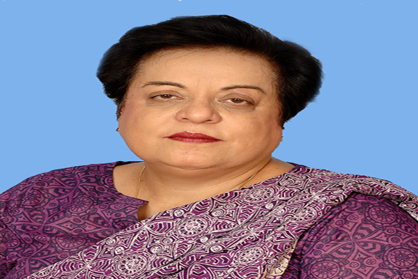 Federal Minister for Human Rights, Dr, Shireen Mazari