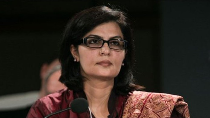 Special Assistant to the Prime Minister on Social Protection and Poverty Alleviation, Dr. Sania Nishtar