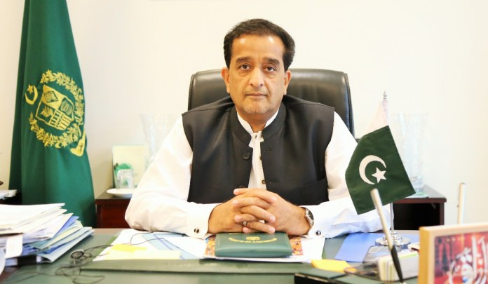 Special Assistant to the Prime Minister (SAPM) on Climate Change Malik Amin Aslam