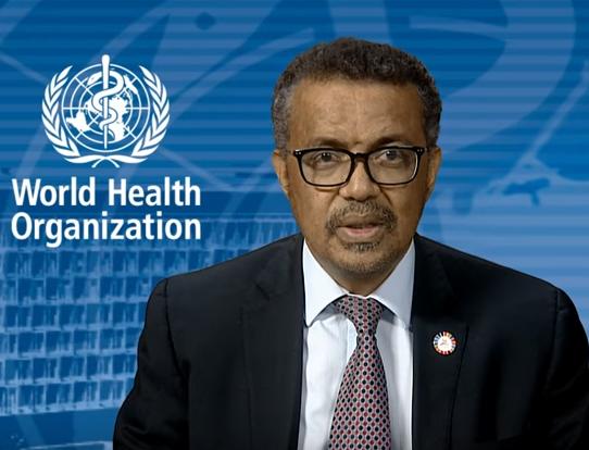 Tedros Adhanom Ghebreyesus, WHO Director-General