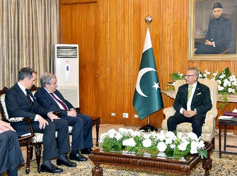 President underlines UN obligation to implement its Security Council resolutions on Kashmir issue | Associated Press Of Pakistan