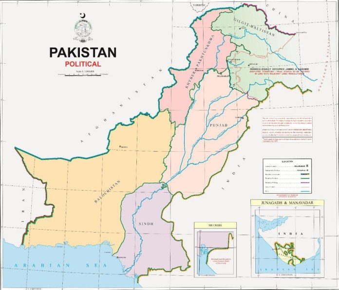 Surveying and Mapping (Amendment) Act, 2020 Section 10 (vi) suggests punishment for a term which may extend up to five years or a fine of five Million rupees or both for circulating incorrect and unofficial version of political map of the country