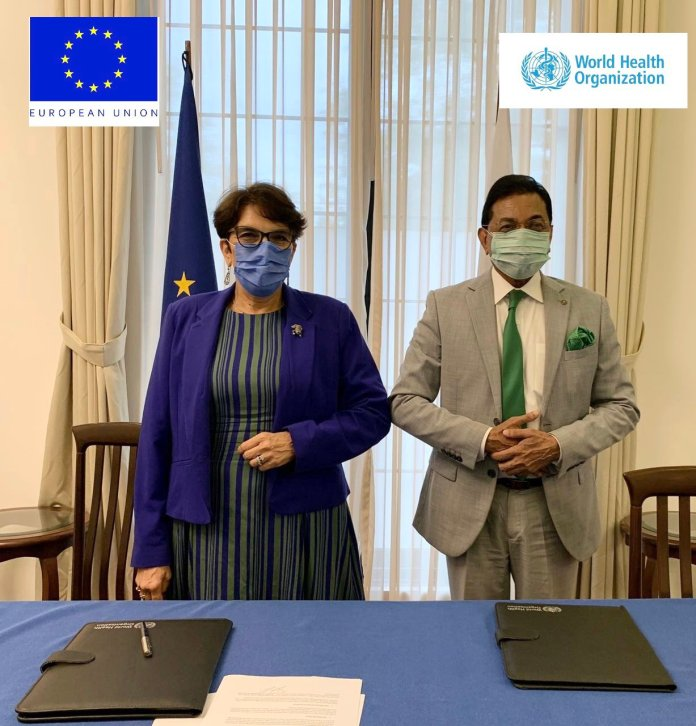 COVID-19 Response; EU pays WHO € 2.5 mln to support Pakistan