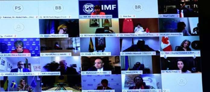 World's finance ministers plan for recovery from Covid-19; Pakistan highlights debt relief