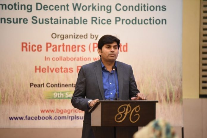 Rice exporters organize training to protect rights of agri women's children
