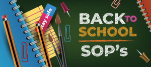 Back to School SOP's