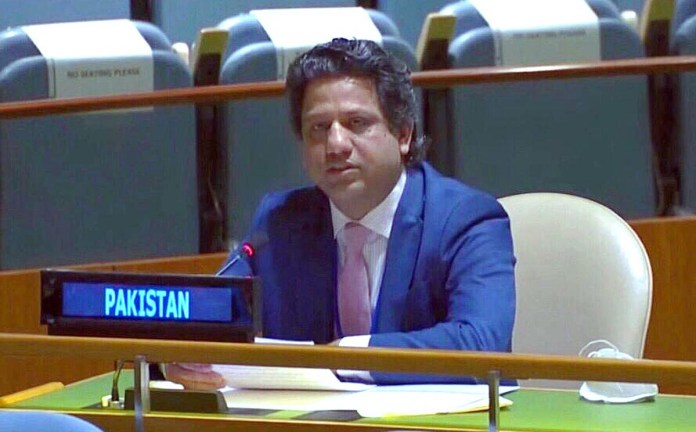 UN's decolonization agenda to remain incomplete without Kashmir settlement: Pakistan
