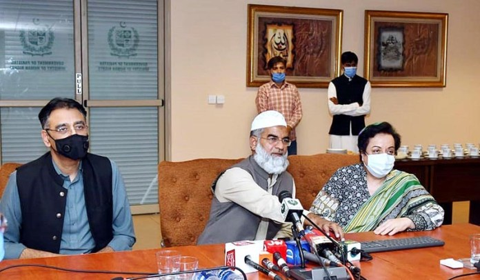 ISLAMABAD: October 15 - Ministry Of Human Rights Launches First Nationwide Zaineb Alert. APP