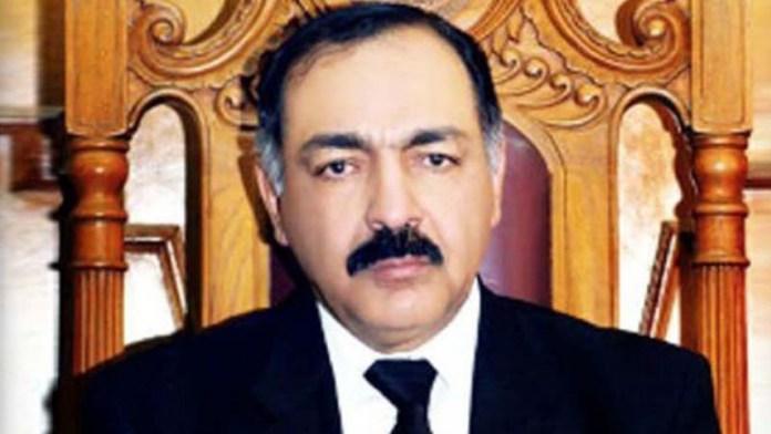Governor Balochistan Amanullah Khan Yasinzai