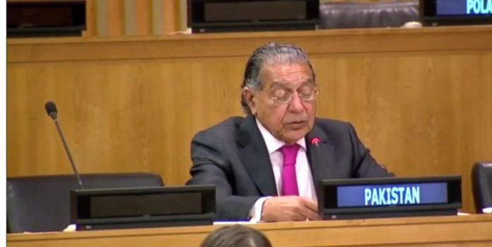 Pakistani, Indian delegates clash over Kashmir at UN's two panels