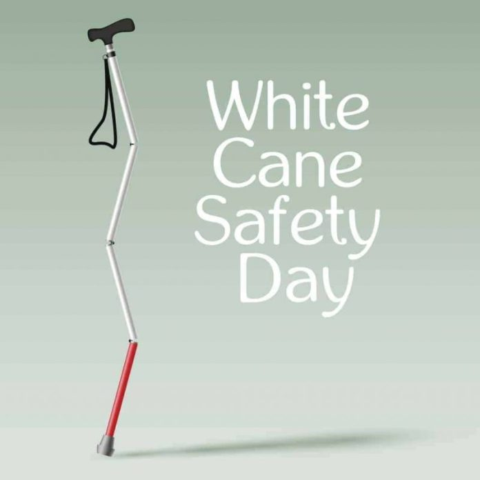 International White Cane Safety Day on October 15